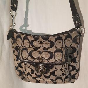 Coach shoulder strap purse
